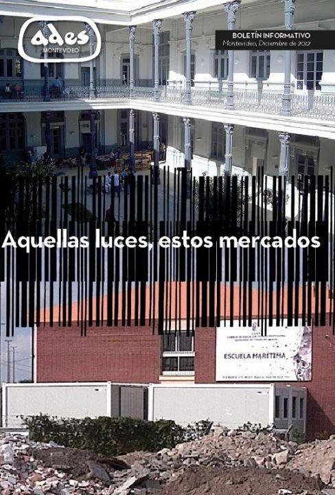 Boletín ADES Montevideo Diciembre de 2012