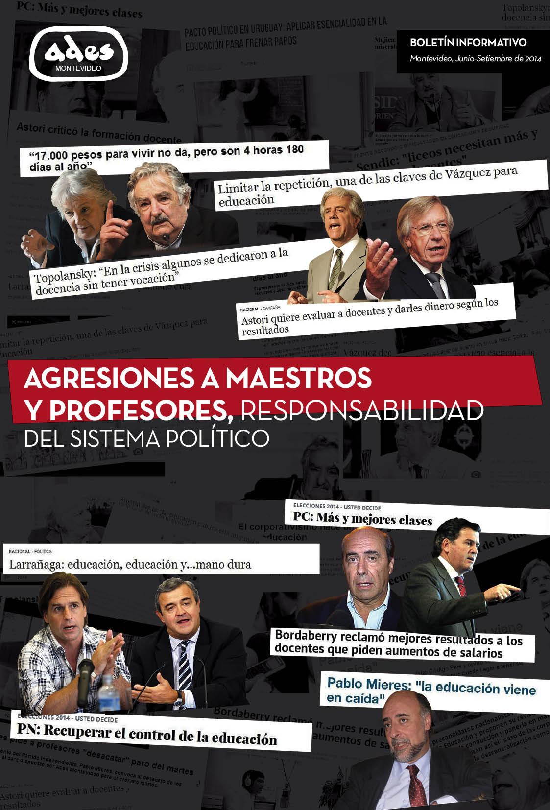Boletín ADES Montevideo Junio-Setiembre de 2014