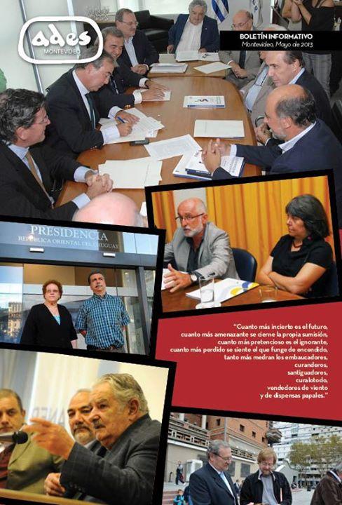 Boletín ADES Montevideo Mayo de 2013