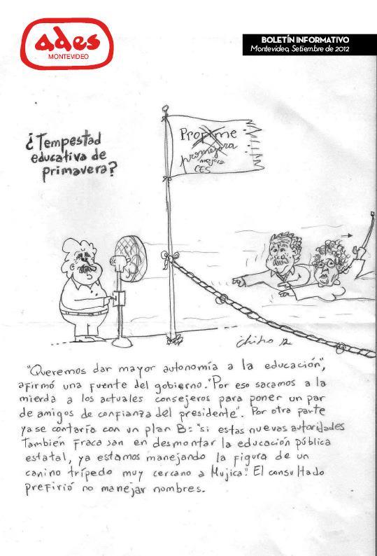Boletín ADES Montevideo Octubre de 2012