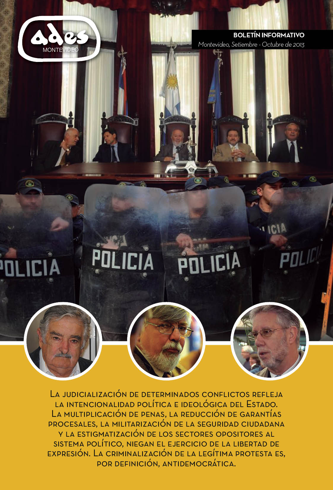 Boletín ADES Montevideo Setiembre-Octubre de 2013