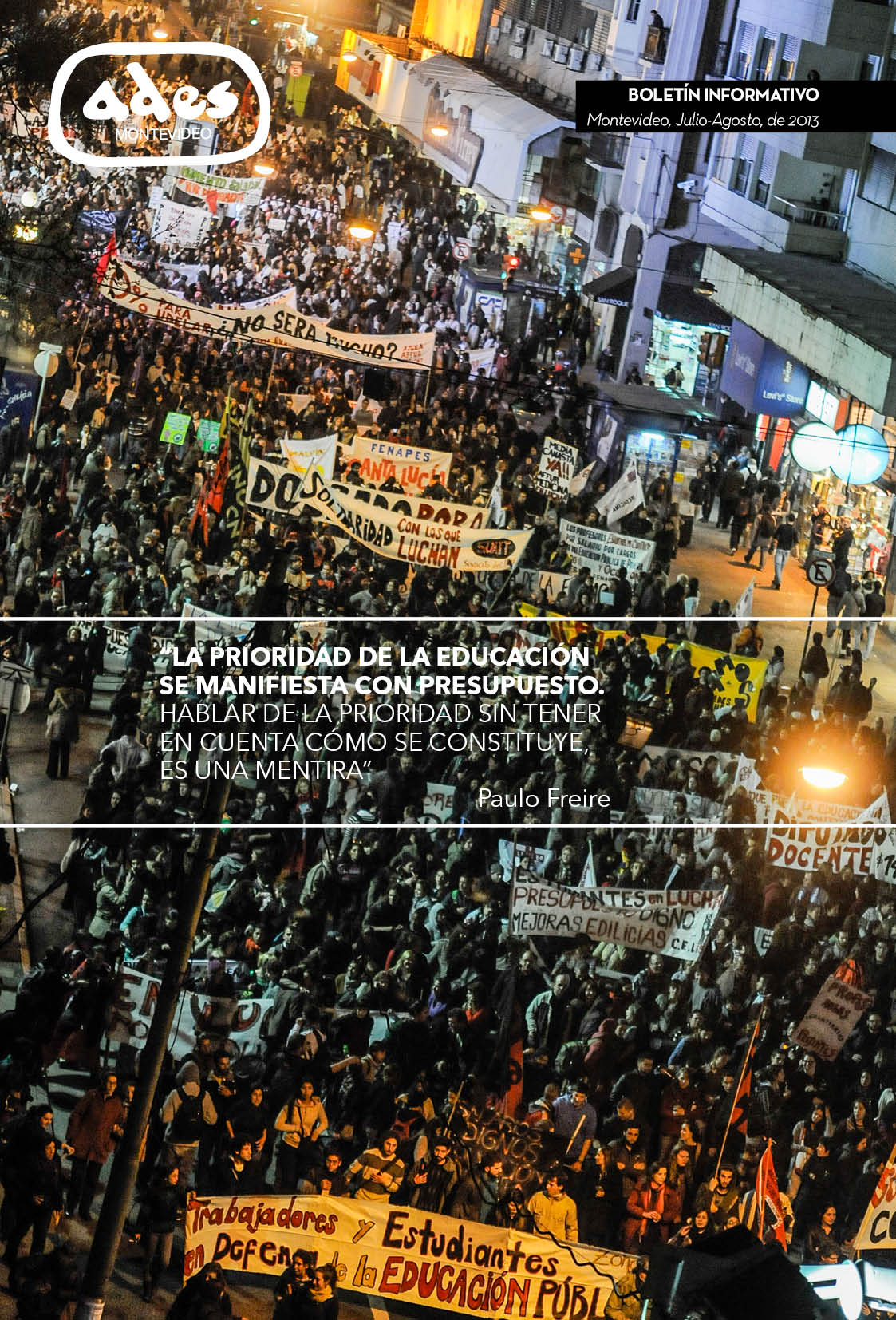 Boletín ADES Montevideo Julio-Agosto de 2013