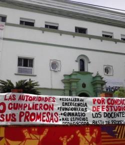 Liceo 16 – Denuncia por no inicio de obras – 26/11/14