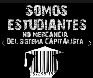 estudiantes no mercancia
