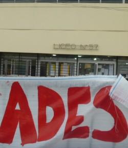 Liceo 57 – Trabajo bajo protesta – 10/09/13