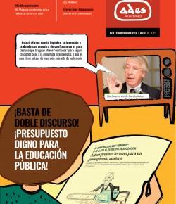Boletín de ADES Montevideo: Julio de 2015