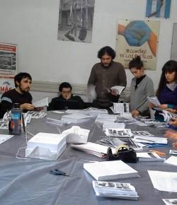 Reunión del Comité de Huelga de ADES Montevideo 01/08/15