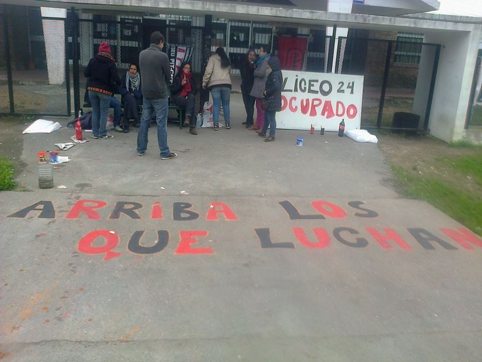 Núcleo sindical del Liceo N° 24 ocupará el centro ante la grave situación edilicia