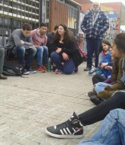 Actividad del Gremio de Estudiantes del Liceo 61
