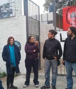 Imágenes de la Ocupación del Liceo 72 llevada a cabo por el Núcleo Sindical