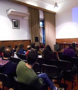 Imágenes de la Primera Charla – Debate sobre Política y Reforma Educativa