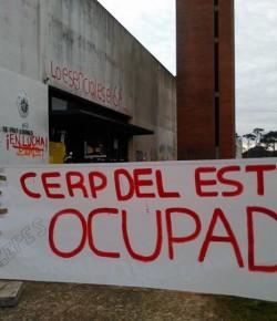 Imágenes de la Ocupación del CERP del Este (Maldonado) llevada a cabo por sus estudiantes