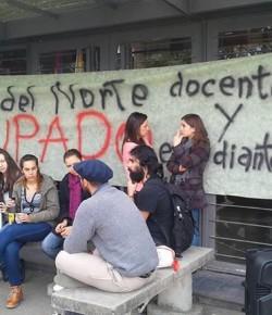 Imágenes de la Ocupación del CERP del Norte (Rivera) llevada a cabo por sus estudiantes