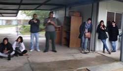 Imágenes de la Ocupación del CERP Suroeste (Colonia) llevada a cabo por sus estudiantes
