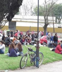 Festival del Zonal Oeste de ADES Montevideo en la Plaza Sendic
