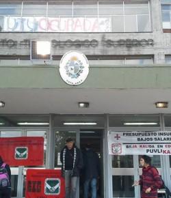 Saludamos la Ocupación del ITS llevada a cabo por los compañeros de AFUTU