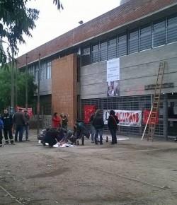 Núcleo Sindical Liceo n°40 ocupa el centro ante reclamos desatendidos