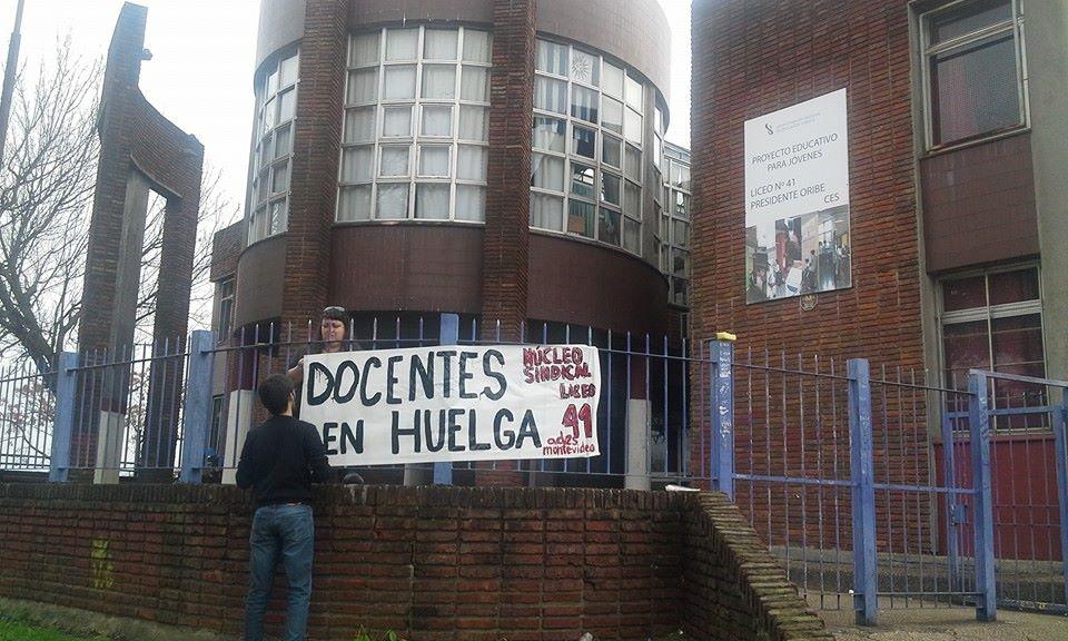 Núcleo sindical del Liceo N° 41 no comenzará las clases en 2019 si no se cumplen mínimas condiciones