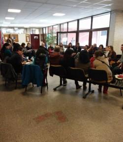 Reunión del Zonal Este en el Liceo 10