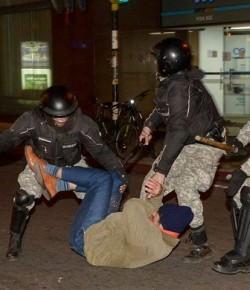 Cobarde represión del Estado uruguayo a estudiantes y trabajadores