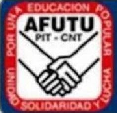 AFUTU regional Montevideo para 24 hs el jueves 24 de setiembre
