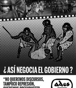 """Reuniones de """"Colectivos contra la criminalización de la protesta"""" y Comisión de DDHH de ADES Montevideo"""
