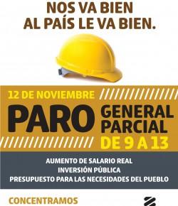 ADES Montevideo adhiere al Paro Parcial del PIT-CNT en el horario de 9 a 13. Concentración a las 10 en 18 y Ejido