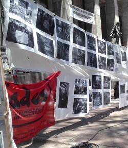 Imágenes y Volante de Jornada contra la criminalización a dos meses de la represión en CODICEN