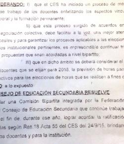 """CES resuelve instalar bipartita con FENAPES para """"lograr acordar"""" ratificación de horas docentes"""