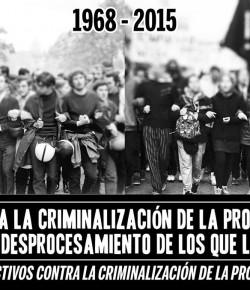 Jornada a dos meses de la represión en el CODICEN: Domingo 22, Hora 12, Callejón de la Universidad