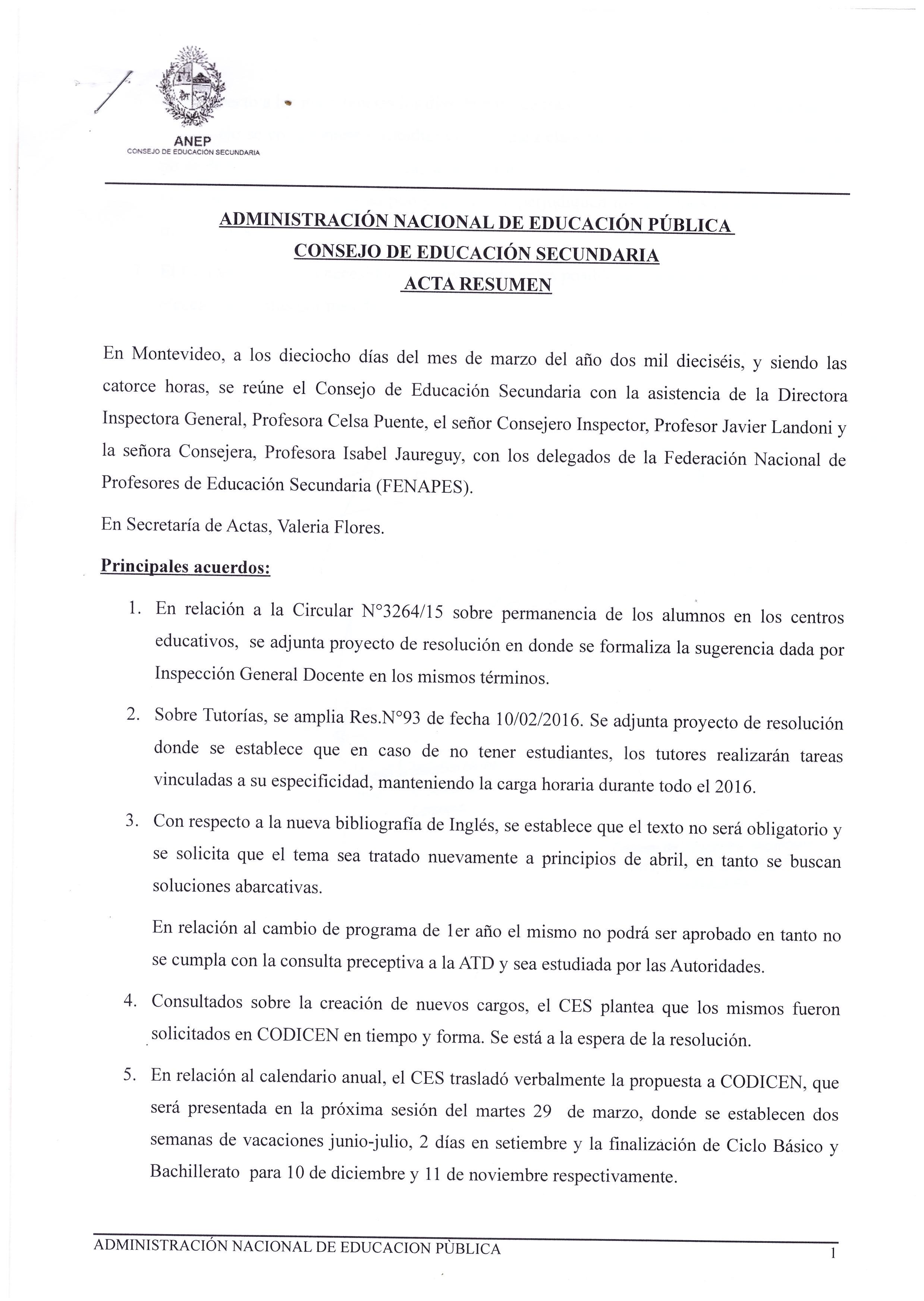 Julio Profe – Página 37 – ADES – Montevideo