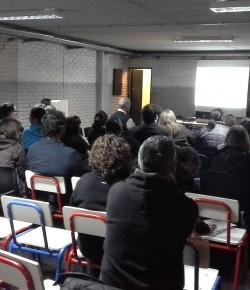 Liceo 19: Informe de reunión con arquitectos e inspectores por proyecto de división del liceo