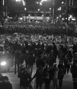 Martha Passeggi: Imágenes de la 21° Marcha del Silencio