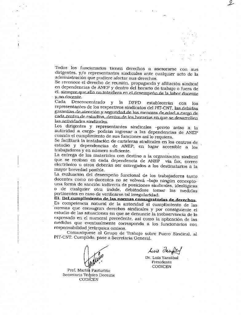 8 - Acta 90 del CODICEN sobre Fueros Sindicales para la CSEU - 12 de diciembre de 2006 (2)