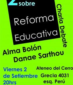 Segunda Jornada del Zonal Oeste de ADES Montevideo sobre reforma educativa