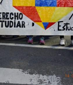 Imágenes de la Marcha en memoria de los Mártires Estudiantiles