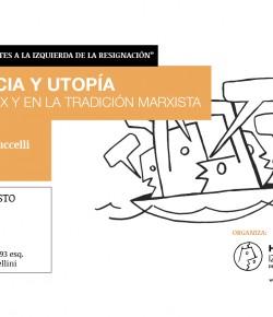 """Presentación del libro """"Ciencia y utopía"""" de Ariel Petruccelli: 23 de agosto, Hora 18:30, Local Sindical"""