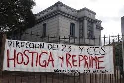 Núcleo Sindical del Liceo 23 exige presencia del CES, de lo contrario ocupará el centro
