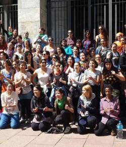 Saludo de participantes del 31º Encuentro Nacional de Mujeres