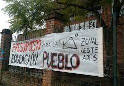 Núcleo Sindical del Liceo 51 exige la creación de dos cargos de adscripción