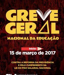 Brasil: Huelga General de la Educación a partir del 15 de marzo