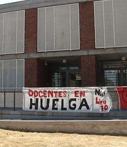 Núcleo Sindical del Liceo 70 exige al CES cumplir con lo acordado