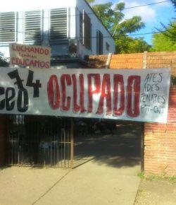 Núcleo Sindical del Liceo 74 desmiente haber recibido propuesta del CES