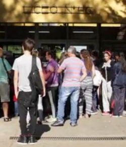 Núcleo Sindical del Liceo 46 denuncia problemáticas a la entrada del complejo educativo