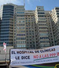 Reunión del Movimiento Todos por el Clínicas: Jueves 1°, Hora 18, Basamento del Hospital