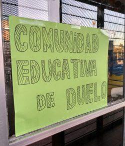 Comunidad educativa del liceo 53: relato del día que tuvimos que pelear por nuestro derecho al duelo.