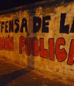 Pintada de Gremios y Sindicatos de la Educación: Lunes 19 de Junio, Hora 18:00