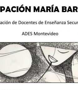 """Agrupación María Barhoum: """"Nuestros principios"""", """"Ahora es el presupuesto"""" y """"20 razones para luchar contra la reforma"""""""