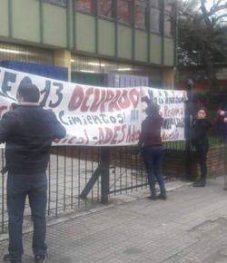 Comunicado a la opinión pública del Núcleo Sindical del Liceo 13, tras un día de ocupación