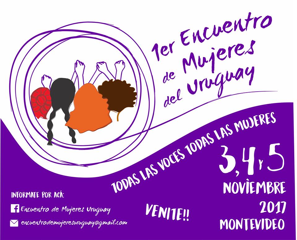 Primer encuentro de mujeres del Uruguay